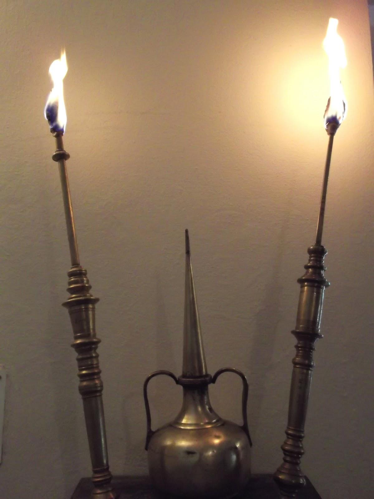 Antique Torch