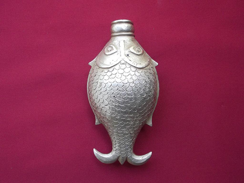 Antique Brass Tiruchoornam Bharani (Container)