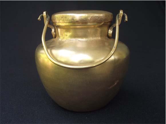 Antique Brass Ghee Storage Pots